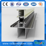 Perfil de aluminio de la protuberancia de la protuberancia 6063 de la puerta de aluminio fresca de aluminio del color