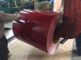 La couleur enduite a galvanisé la bobine de l'acier PPGI pour des tuiles de toiture
