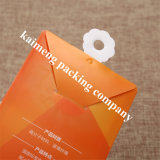 Farbenreiche gedruckte Falz-Entwurfs-Raum-Haustier-Plastikkasten-Griffe für Schablone