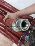 シリコーンの上塗を施してあるガラス繊維の袖