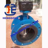 Válvula de borboleta industrial de Wcb da flange do aço de carbono de ANSI/DIN/JIS