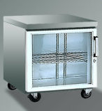 Tabela de funcionamento Refrigerated comercial de duas portas (48F)