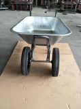 Brouette de bonne qualité de roues du zinc deux