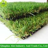 Herbe synthétique d'herbe artificielle d'horizontal de prix usine pour le jardin