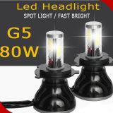 Indicatore luminoso H7 5202 H11 9005 dell'automobile di G5 4000lm LED 9006 H13 9004 indicatore luminoso dell'automobile di 9007 H4 LED