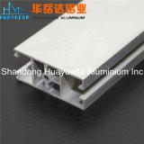 6063 profils en aluminium de anodisation d'extrusion d'argent personnalisés par T5 pour la construction