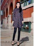 Großhandelseuropa-Form-heißer neuer Entwerfer-elegantes Dame-Kleid