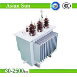11kv 630kVAのオイルによって浸される電力配分の変圧器