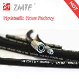 Mangueira hidráulica flexível da trança da qualidade superior do SAE J517 2sc