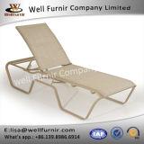 알루미늄 프레임 안뜰 Cay 염 무방비 2륜 경마차 라운지용 의자