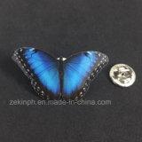 Изготовленный на заказ значок Pin печатание формы бабочки