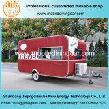 Caravane de Traving/remorque de nourriture avec le prix concurrentiel à vendre