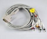 10 cabo das ligações ECG para Nihon Kohden ECG 9132k