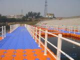Dique flotante del HDPE marina de Zhongya