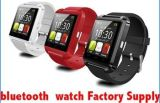 El último modelo 2016 1.48 reloj elegante de la pantalla táctil de la pulgada LCD/LED U8 Bluetooth