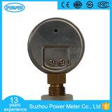 1.5 manómetro do calibre de pressão do aço inoxidável da polegada 40mm