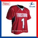 Healong Form-voller SublimationMensLacrosse Jersey