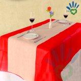 Tablecloth contínuo descartável Tablecover da verificação do festival 50gram