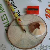 Карандаш Hb деревянный с истирателем и карандаш цвета деревянный