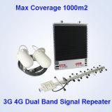 GSM/WCDMA/Lte 3G 4G Lte 이동 전화 중계기 셀룰라 전화 신호 승압기 500 MW