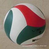 Nouveau volleyball stratifié d'unité centrale du modèle 2016 par cuir
