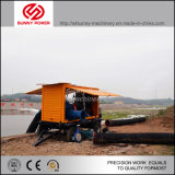 10inch de diesel Pomp van het Water voor Mijnbouw/de Drainage van de Vloed met Aanhangwagen