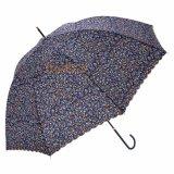 زهرة يطبع مظلة مستقيمة لأنّ نساء يستعمل