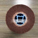 브라운 색깔 모래 피복 없는 비 길쌈된 플랩 솔
