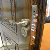 Puerta de acero del metal de la puerta de la seguridad de la puerta del diseño de Turquía sola