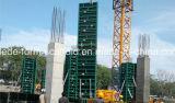Sistema modular del encofrado del marco de acero para el concreto