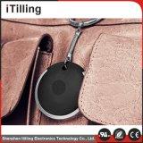 Черные автомобильные отслежыватель Bluetooth 4.0 миниый GPS для персоны