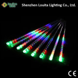Haut Lumen Multicolor LED Meteor Shower Lumière pour la décoration