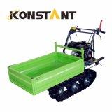Descarregador pequeno da esteira rolante para o carregamento & o transporte agriculturais