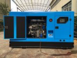 125kVA WeichaiエンジンR6105azldを搭載する防音の4ストロークのディーゼル発電機