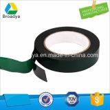 Cinta de encargo negra del papel de las etiquetas engomadas de la película verde de la espuma de EVA (BY-ES20)
