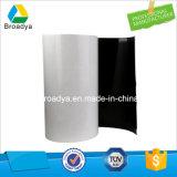Espesor echado a un lado ultra fino gris/del negro de la espuma de la industria de la cinta 0.4m m (BY6240G)