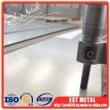 Het Blad van het Titanium van de voorraad Grade5 ASTM B265 met de Oppervlakte van de Spiegel