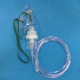 Nebulizzatore a gettare con la mascherina dell'aerosol (trasparente)