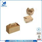 Organischer Sicherheits-Papier-Mittagessen-Verpacken- der Lebensmittelkasten