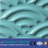 Het binnenlandse MDF van de Decoratie van de Muur Materiële 3D Comité van de Muur