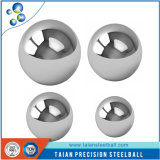 Bola de acero de la alta calidad en material inoxidable