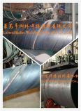 H10mn2 a creusé l'allumette de fil de soudure a vu le décapant à souder Sj102 pour l'acier X60 de canalisation