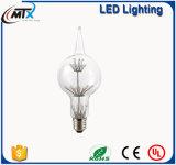 Los bulbos de los bulbos 3W LED de la vela del LED calientan la lámpara de filamento de cristal retra de la bombilla de Edison de los bulbos ahorros de energía blancos de E27 220V para la iluminación casera de la decoración
