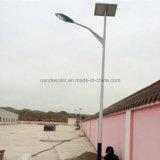 luz de calle solar 15W-160W con el panel solar, el regulador y la batería