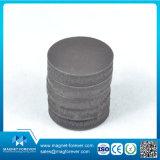 Imán de gran alcance de cerámica de la ferrita de la ferrita del disco permanente del imán para el altavoz