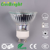5W GU10 LED Birne Dimmable Glaslampen-Scheinwerfer des shell-LED