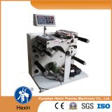 Automatic Pet, PC, PE, PVC Rebobinador Slitter