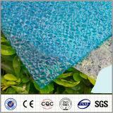 See-blaues Polycarbonat geprägtes Blatt