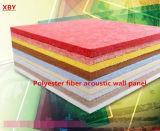 Feuille insonorisée de panneau de décoration d'écran antibruit de fibre de polyester de mur