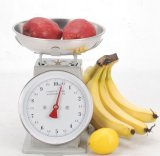 10kg Spring Table Scale con Round Tray
